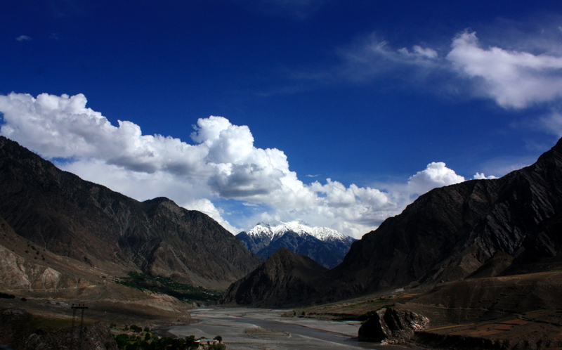 The Hindukush Mountains, en route to Chitral