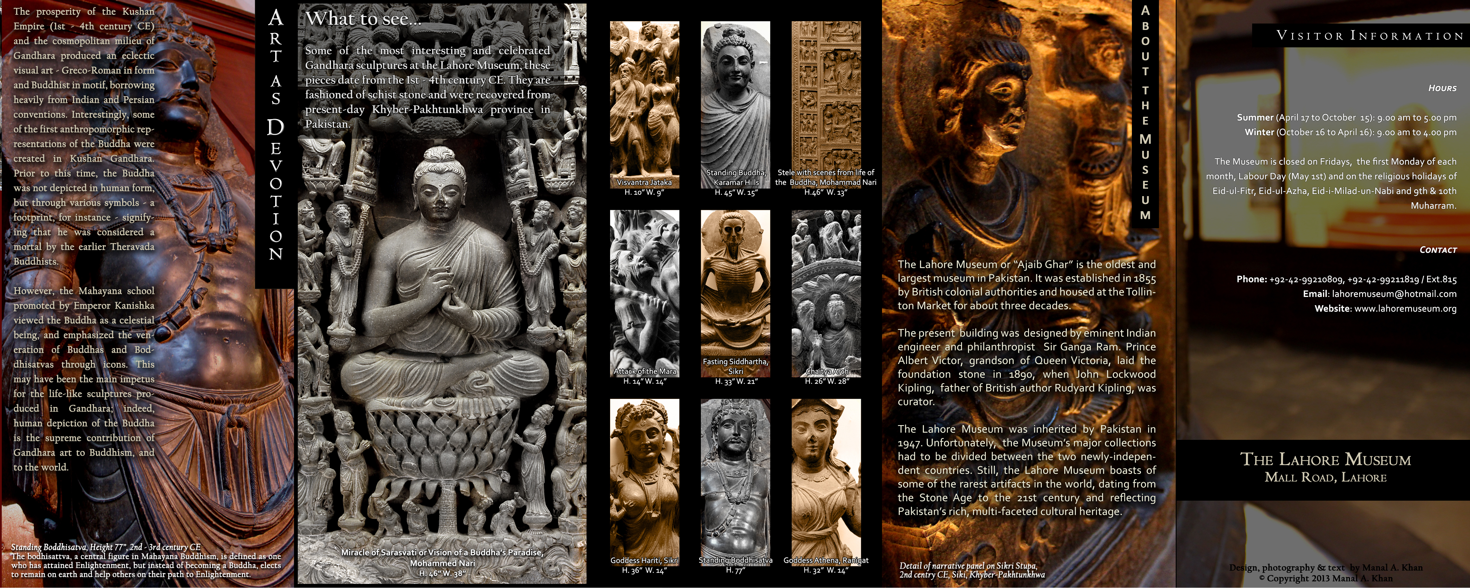 Gandhara Sculpture At The Lahore Museum Windswept Words