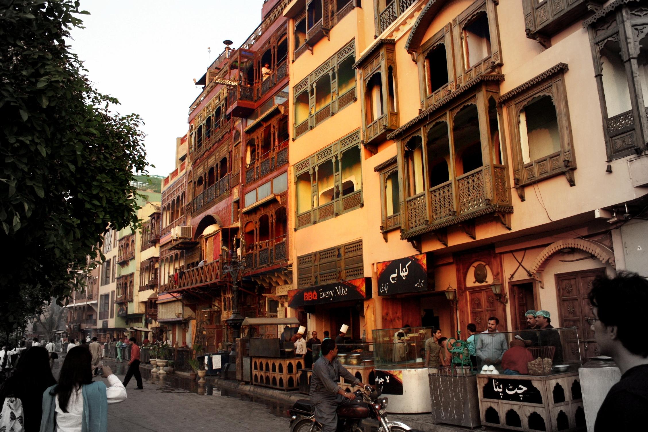 Old lahore windswept words for Bano bazar anarkali lahore