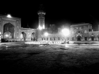 Courtyard of Wazir Khan Mosque