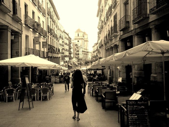 Street of Old Madrid