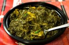 Palak Gosht (Spinach & Beef stew), Pakistani style