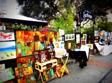 Street art in Barrio de Las Letras