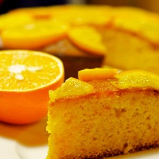 Bizcocho de Naranja (Orange Pound Cake), Spanish style