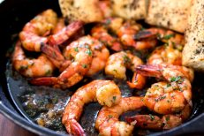 Gambas al Ajillo (Garlic Prawns), Spanish style