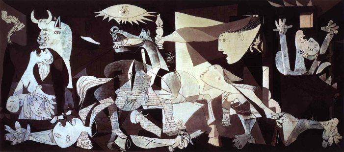 """Guernica"" by Pablo Picasso at the Museo de Arte Reina Sofía"
