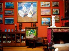 The house (now museum) of Spanish Impressionist painter Joaquin Sorolla