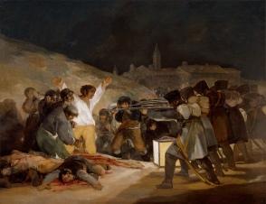 """""""The Executions"""" by Francisco de Goya, Prado Museum"""