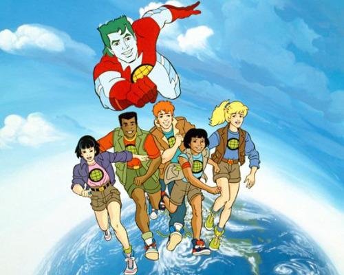 Captain Planet was a terrific cartoon, though it did give us slightly unrealistic ambitions