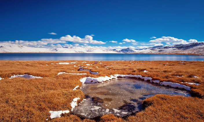 Deosai Plains in Baltistan, Pakistan, one of the highest plateaus in the world.