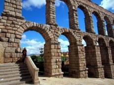 Roman Aqueduct, 1st century, Segovia, Spain