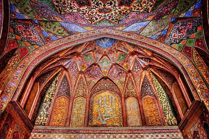 Wazir Khan Mosque, 17th century, Lahore, Pakistan